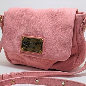 Marc by Marc Jacobs Pink Leather Classic crossbody